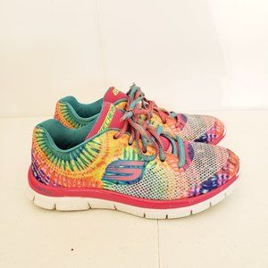 Skechers Girls Multi-Colored Running Shoes